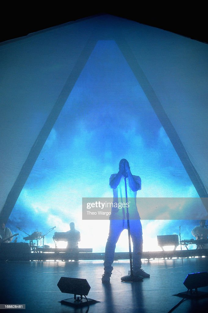 Kanye West performs onstage at the Adult Swim Upfront Party 2013 at Roseland Ballroom on May 15, 2013 in New York City. 23698_002_0220.JPG