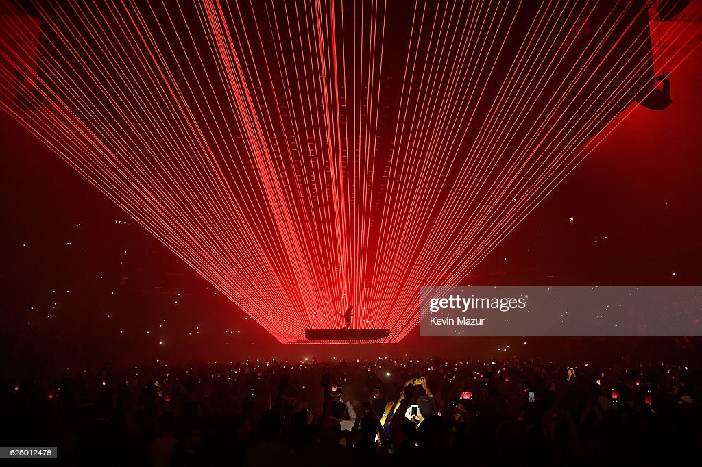 Kanye West Performs Onstage During His Saint Pablo Tour At Madison Square Garden On