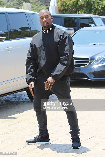 Kanye West seen out to lunch at Nobu on May 29 2016 in Los Angeles California