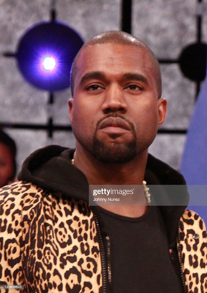 db4c9586c4b Kanye West visits BET s 106   Park on April 9