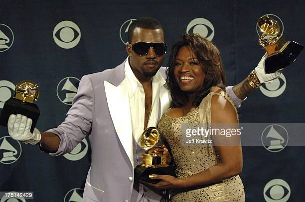 Kanye West winner of Best Rap Solo Performance for Gold Digger Best Rap Song for Diamonds From Sierra Leone and Best Rap Album for Late Registration...