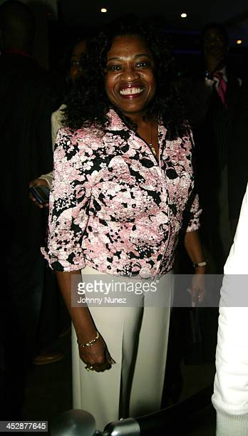 Kanye West's Mom during Kanye West Launches His Record Company GOOD Music at Duvet in New York City New York United States
