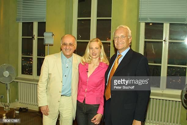 Kanzlerkandidat Edmund Stoiber Tochter Constanze Hausmann Gastgeber und Moderator Alfred Biolek ARD/WDR TalkShow Boulevard Bio Köln WDRStudio Vater...