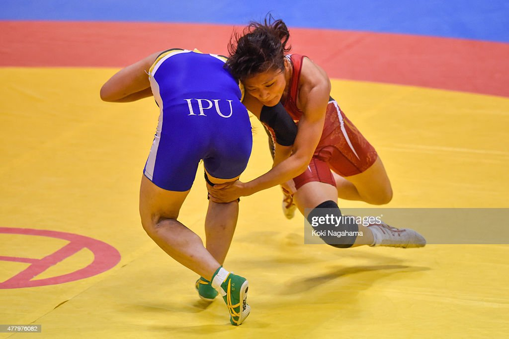 All Japan Wrestling Championships - Day 3 : News Photo