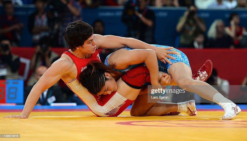 Olympics Day 12 - Wrestling : News Photo