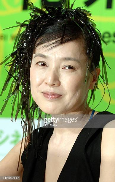 Kaori Momoi during Kaori Momoi's First Directed Film Faces of a Fig Tree Press Conference at Cerulean Tower Tokyu Hotel in Tokyo 125900 Japan