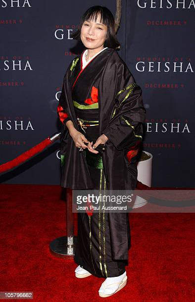 Kaori Momoi during Memoirs of a Geisha Los Angeles Premiere Arrivals at Kodak Theatre in Hollywood California United States