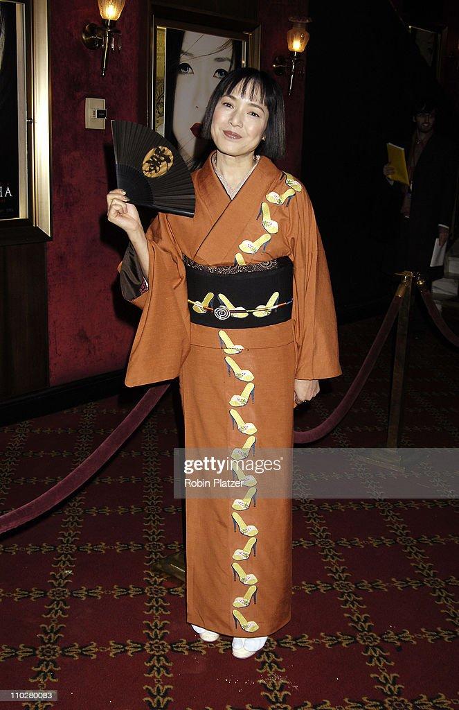 """Memoirs of a Geisha"" New York City Premiere - Arrivals : Foto di attualità"