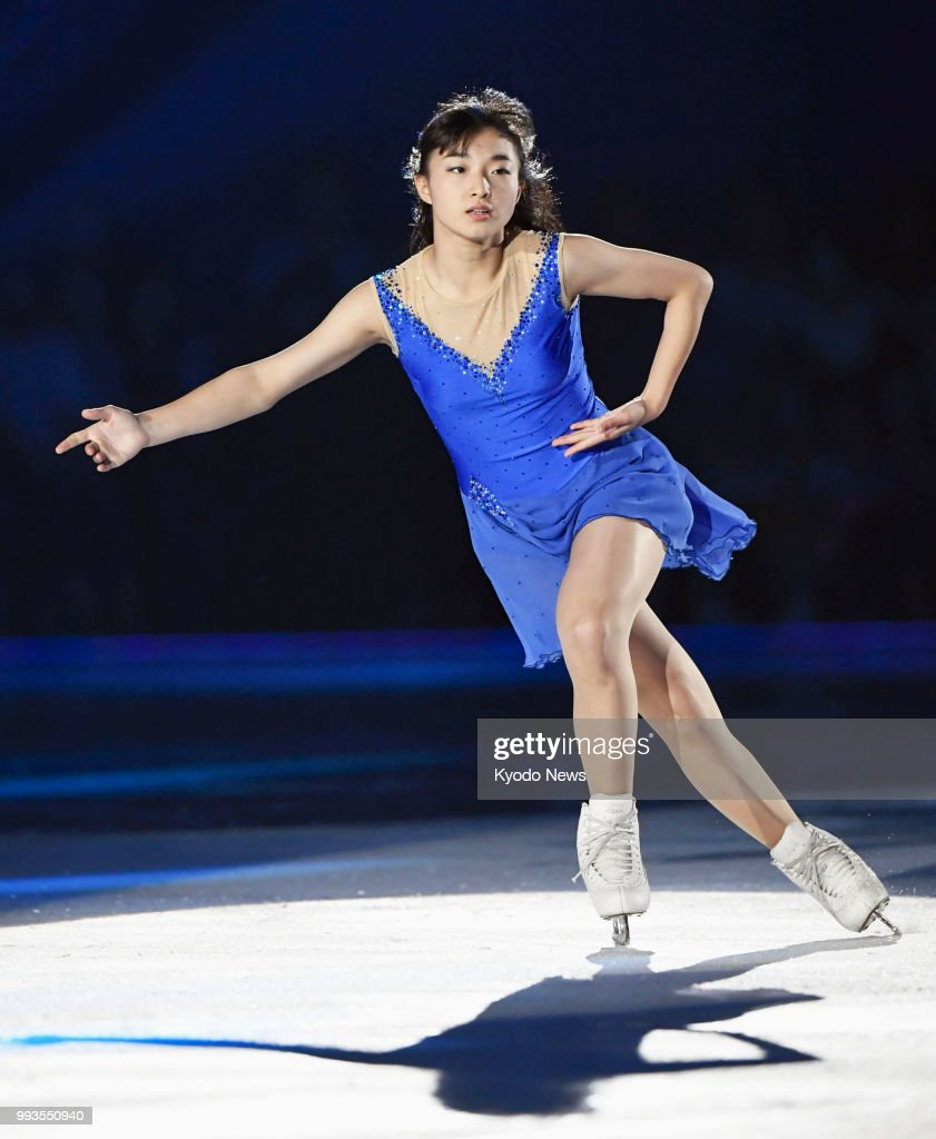 Figure skating: Kaori Sakamoto : ニュース写真