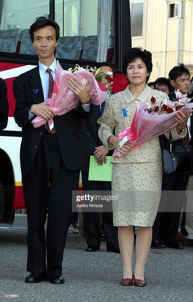 Japanese Nationals Homecoming : ニュース写真