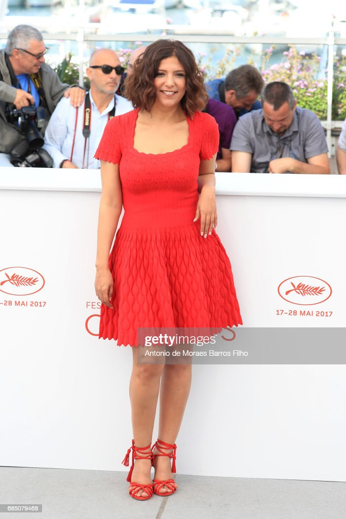 Kaouther Ben Hania attends the 'Alaka Kaf Ifrit (La Belle Et La Meute)' Photocall during the 70th annual Cannes Film Festival at Palais des Festivals on May 19, 2017 in Cannes, France.