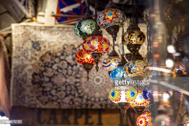 Kapalçar the Grand Bazaar in Istanbul Turkey Kapalicarsi is the largest covered market in the world with more than 4000 shops and 61 covered streets...