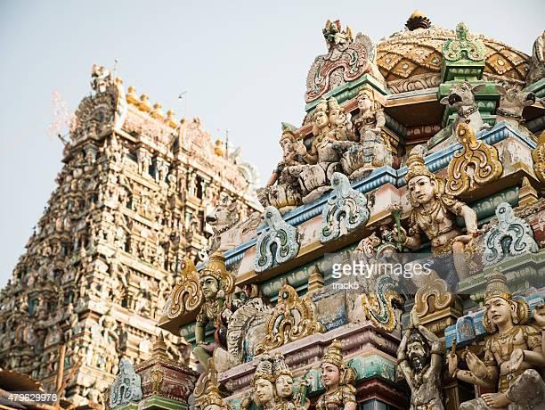 kapaleeshwarar temple, chennai, india - chennai stock pictures, royalty-free photos & images