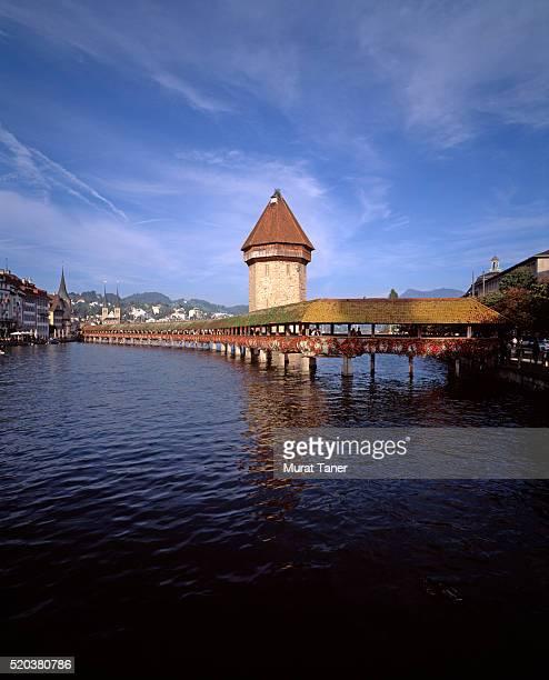 Kapellbrucke (Chapel Bridge) and water tower
