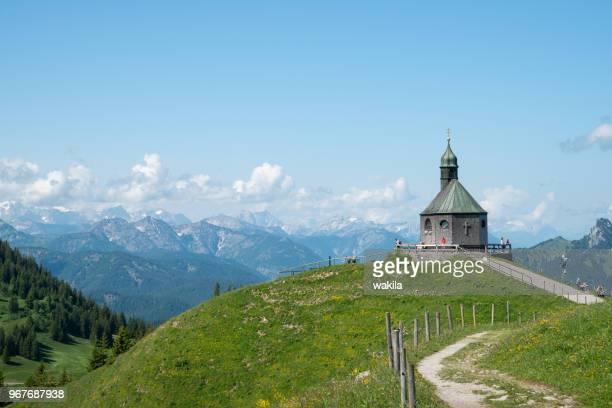 Kapelle on Wallberg near lake Tegernsee