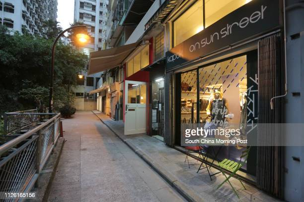 Kapok restaurant and others at Sun Star and Moon Street in Wan Chai 18APR14 [BROADSHEETS LIFE]