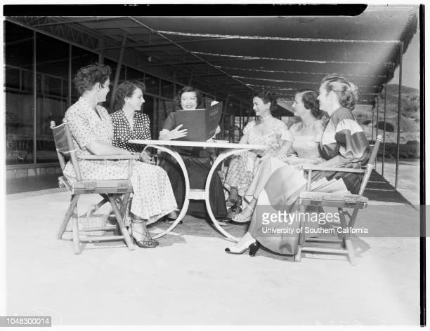 Kappa Alpha Theta Alumnae Bridge Tournament 4 June 1953 Mrs Leroy StantonJrMrs James FranksMrs Gerard F SmithMrs Frank E BoothMrs Stanton SwaffordMrs...