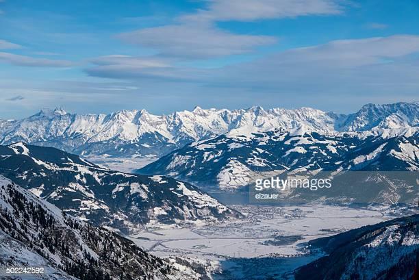 Kaprun ski area, Austria.