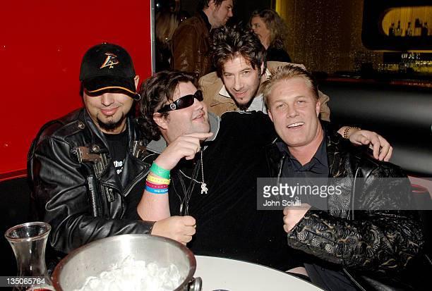 Kaptain, Jason Davis and Craig Dieffenbach, CEO of Hendrix Electric Vodka