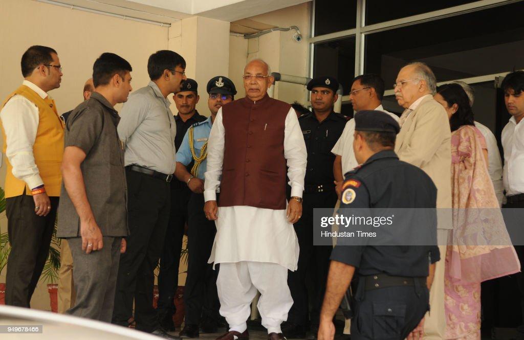 Haryana Governor Kaptan Singh Solanki Attend Civil Services Day Program