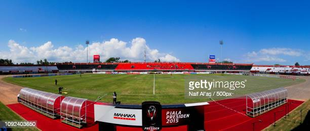 kapten i wayan dipta stadium: panoramic view - as stock pictures, royalty-free photos & images