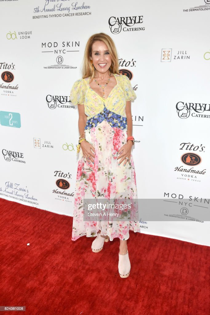 Kara Alloway attends Jill Zarin's 5th Annual Luxury Luncheon at Private Residence on July 29, 2017 in Southampton, New York.