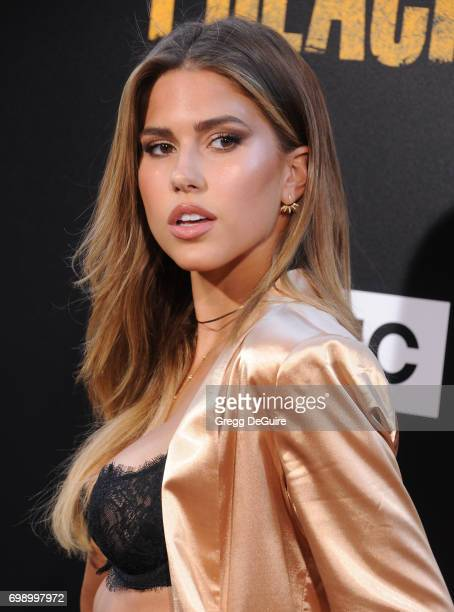 Kara Del Toro arrives at the premiere of AMC's 'Preacher' Season 2 at The Theatre at Ace Hotel on June 20 2017 in Los Angeles California