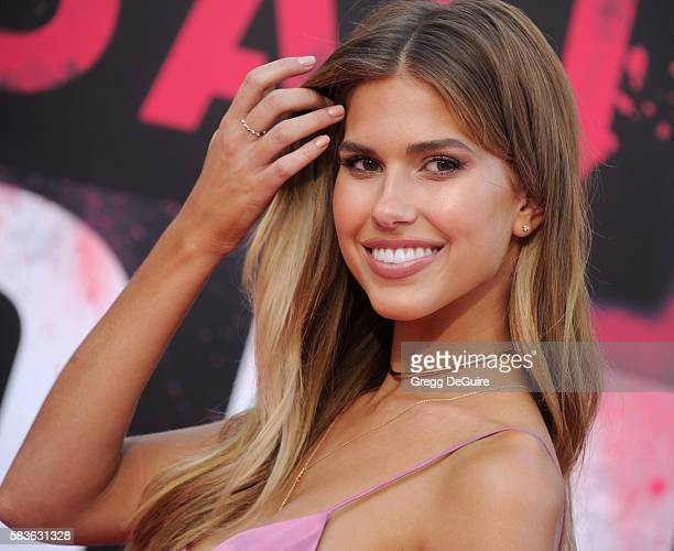 Kara Del Toro arrives at the premiere of STX Entertainment's 'Bad Moms' at Mann Village Theatre on July 26 2016 in Westwood California