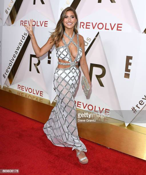 Kara Del Toro arrives at the #REVOLVEawards at DREAM Hollywood on November 2 2017 in Hollywood California