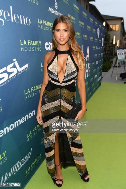 Kara Del Toro attends the 2018 LA Family Housing Awards at The Lot in West Hollywood on April 5 2018 in West Hollywood California
