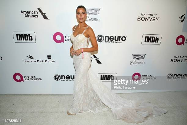Kara Del Toro attends the 27th Annual Elton John AIDS Foundation Academy Awards Viewing Party Celebrating EJAF and The 91st Academy Awards on...