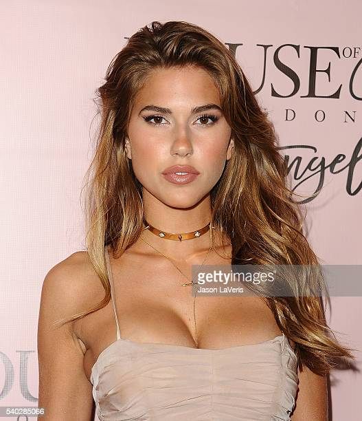 Kara Del Toro attends the House of CB flagship store launch at House Of CB on June 14 2016 in West Hollywood California