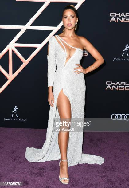 Kara Del Toro attends the premiere of Columbia Pictures' Charlie's Angels at Westwood Regency Theater on November 11 2019 in Los Angeles California