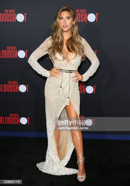 Kara Del Toro attends the premiere of Sony Pictures' Bloodshot on March 10 2020 in Los Angeles California