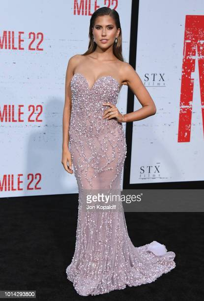 Kara Del Toro attends the premiere of STX Films' Mile 22 at Westwood Village Theatre on August 9 2018 in Westwood California