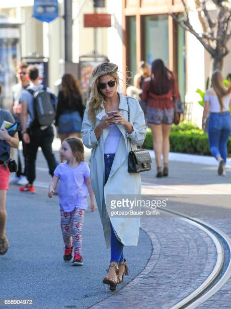 Kara Del Toro is seen on March 27 2017 in Los Angeles California