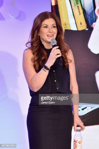 Kara Goldin speaks on stage during the POPSUGAR 2017 Digital NewFront at Industria Studios on May 3 2017 in New York City