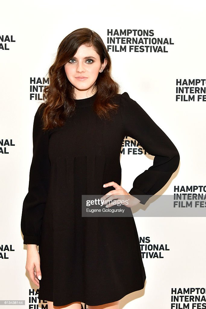 Kara Hayward attends the Manchester by the Sea screening during the Hamptons International Film Festival 2016 at Guild Hall on October 8, 2016 in East Hampton, New York.