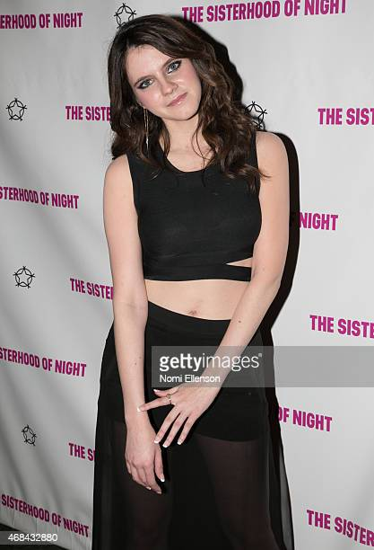 Kara Hayward attends ''The Sisterhood Of Night'' New York premiere on April 2 2015 in New York City