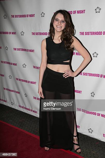 Kara Hayward attends ''The Sisterhood Of The Night'' NY Premiere and After Party on April 2 2015 in New York City