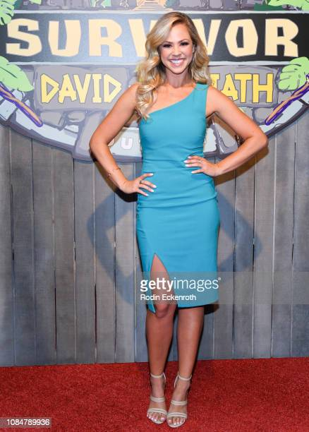 Kara Kay attends the 'Survivor David Vs Goliath' Finale at CBS Televison City on December 19 2018 in Los Angeles California