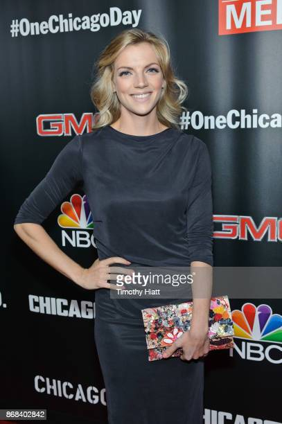 Kara Killmer attends the One Chicago party during NBC's 'One Chicago' press day on October 30 2017 in Chicago Illinois