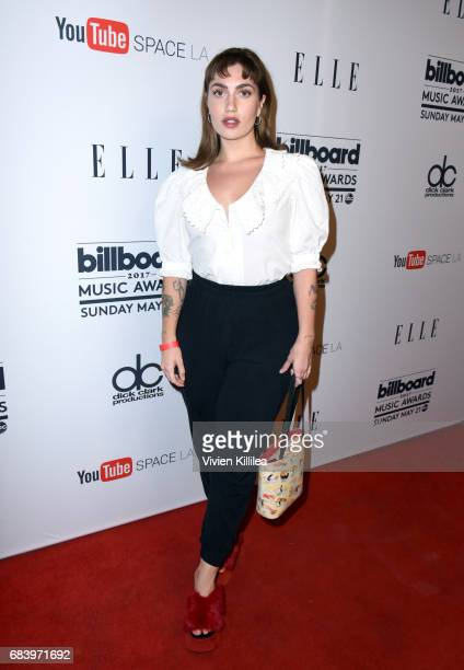 Kara Lane attends the '2017 Billboard Music Awards' And ELLE Present Women In Music at YouTube Space LA on May 16 2017 in Los Angeles California