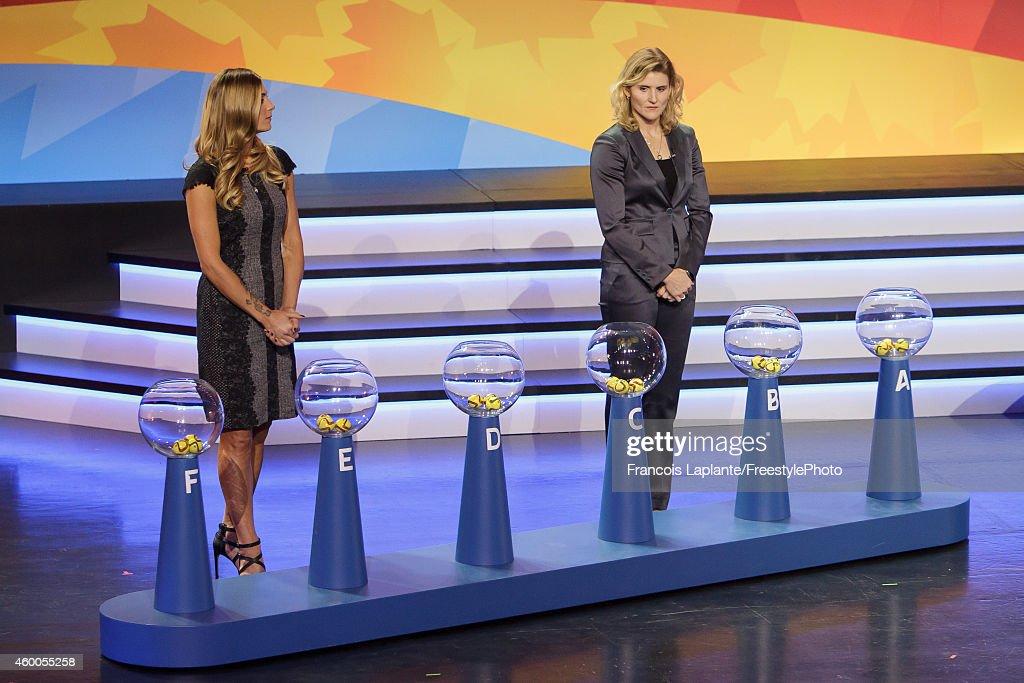 2015 FIFA Women's World Cup Final Draw : News Photo