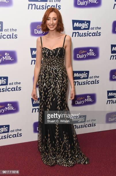 Kara Lily Hayworth attends Magic Radio's event 'Magic At The Musicals' held at Royal Albert Hall on May 21 2018 in London England