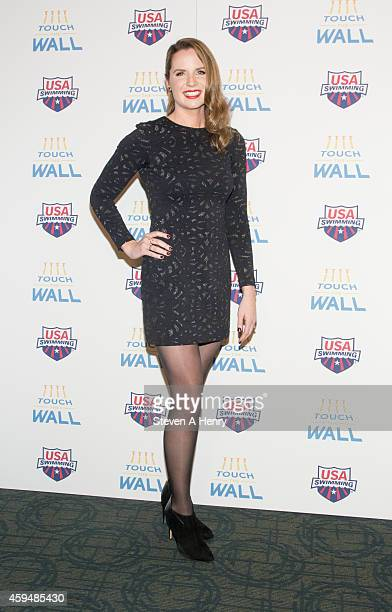 Kara Lynn Joyce attends the premiere of 'Touch the Wall' at the Sunshine Landmark on November 23 2014 in New York City