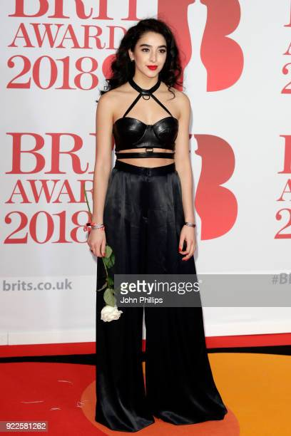 AWARDS 2018*** Kara Marni attends The BRIT Awards 2018 held at The O2 Arena on February 21 2018 in London England