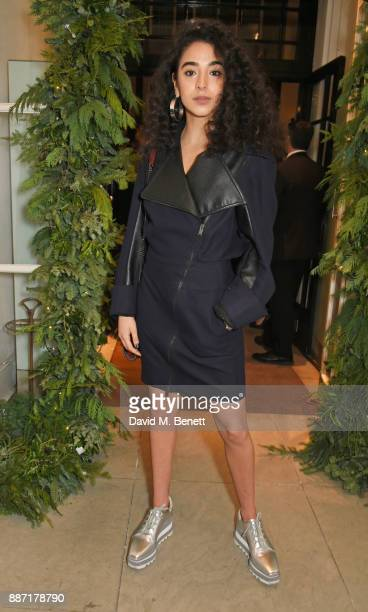 Kara Marni attends the Stella McCartney Christmas Lights 2017 party on December 6 2017 in London England