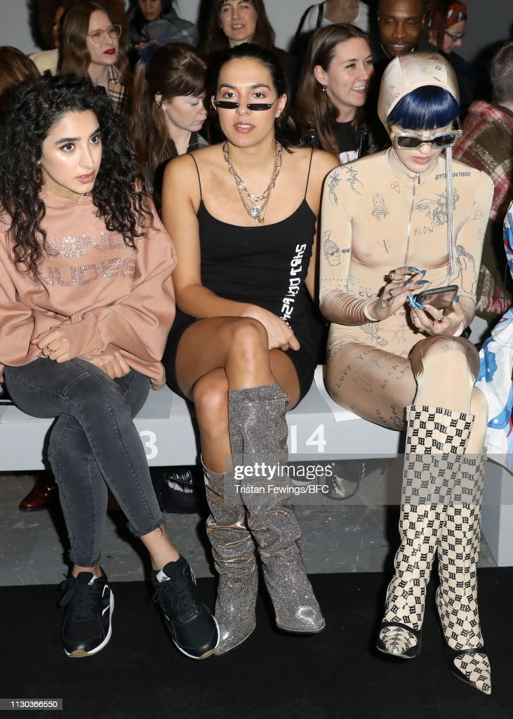 GBR: Ashish - Front Row - LFW February 2019
