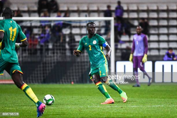 Kara Mbodji of Senegal during the friendly match between Senegal and Ivory Coast at Stade Charlety on March 27 2017 in Paris France